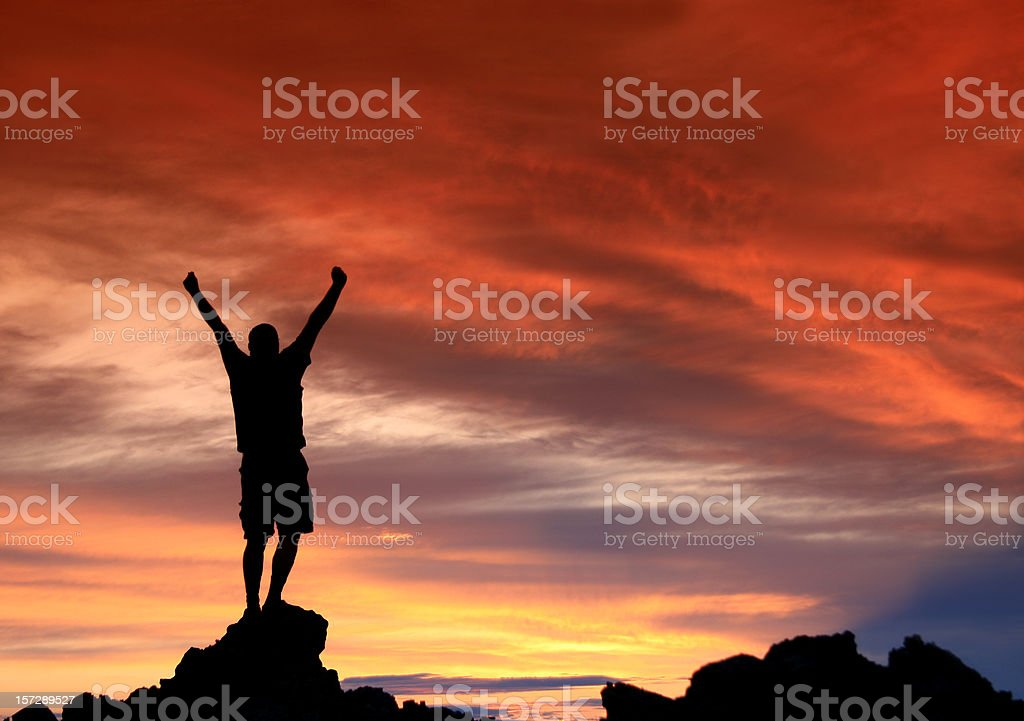 Success and Achievement Concept stock photo