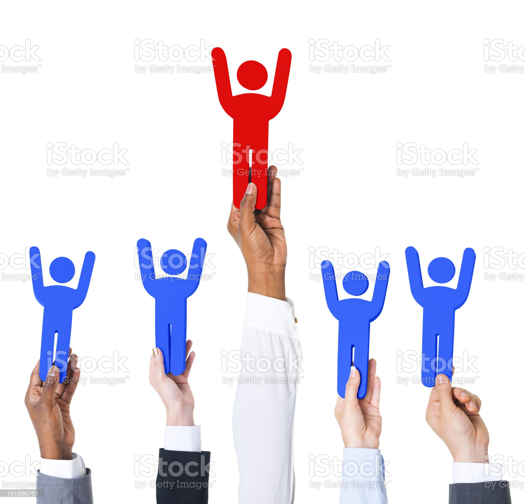Success and Achievement royalty-free stock photo