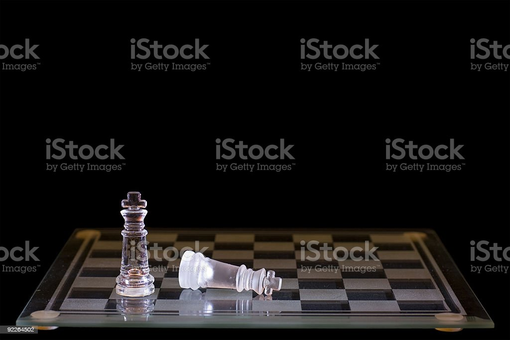 Success and Defeat royalty-free stock photo
