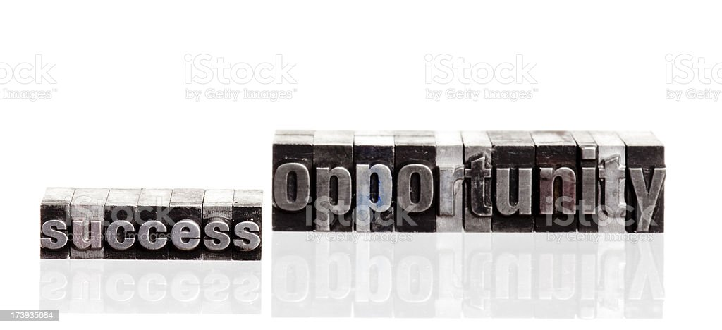 success and opportunity royalty-free stock photo