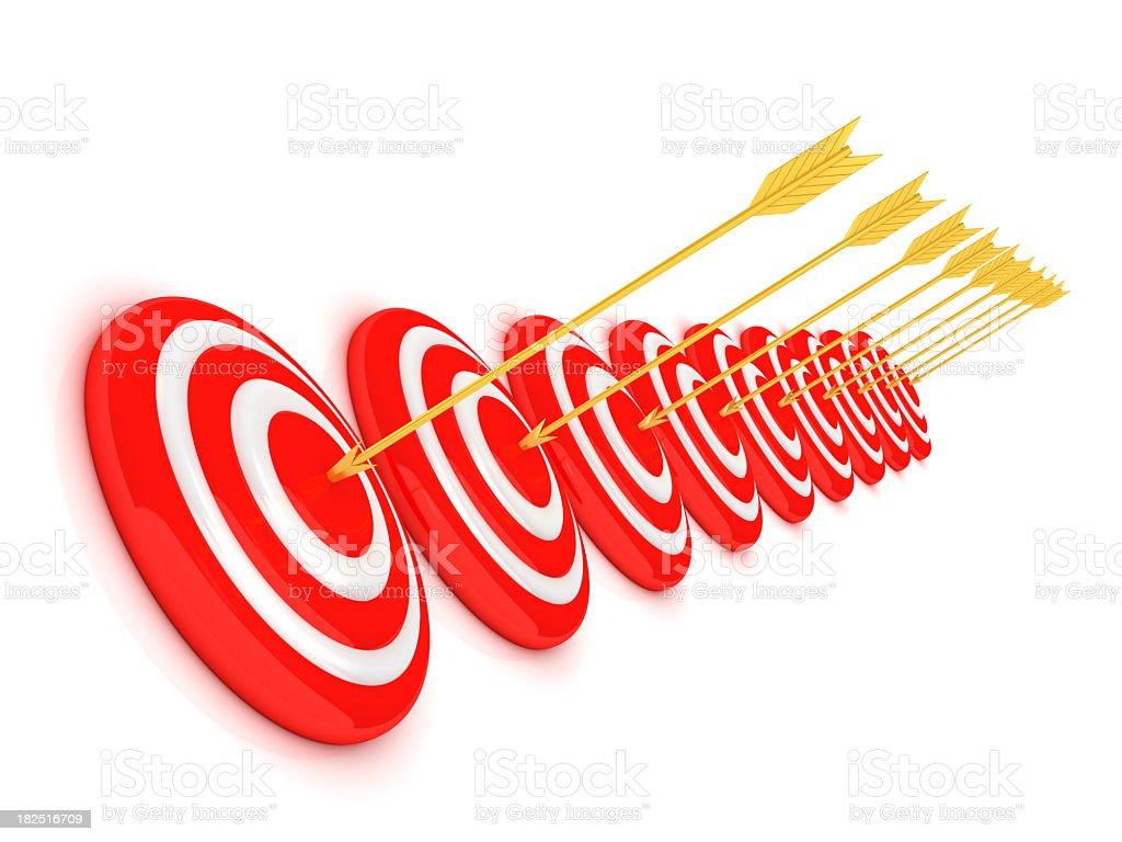 success arrows royalty-free stock photo