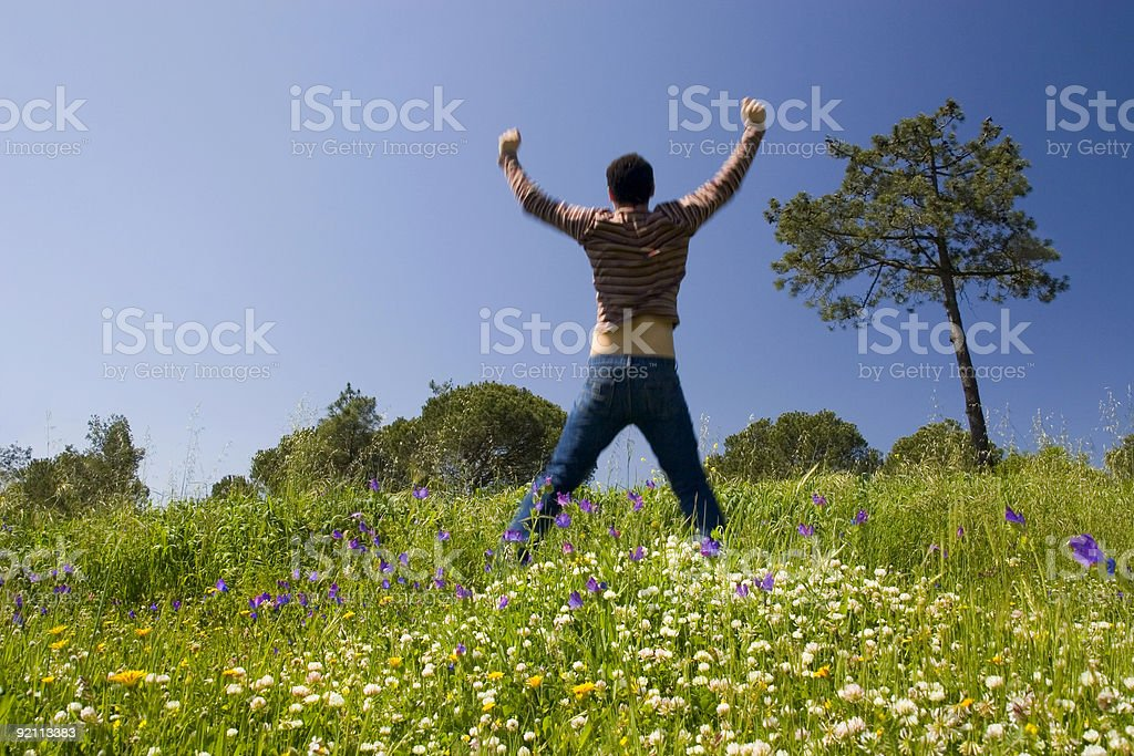 Success business achievement royalty-free stock photo