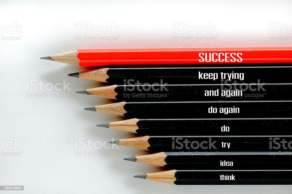 Success business concept stock photo