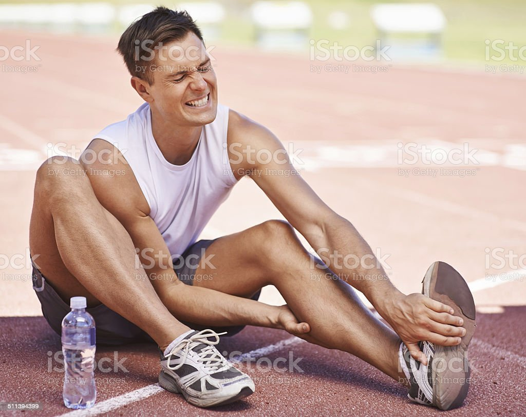 Success can be a pain stock photo