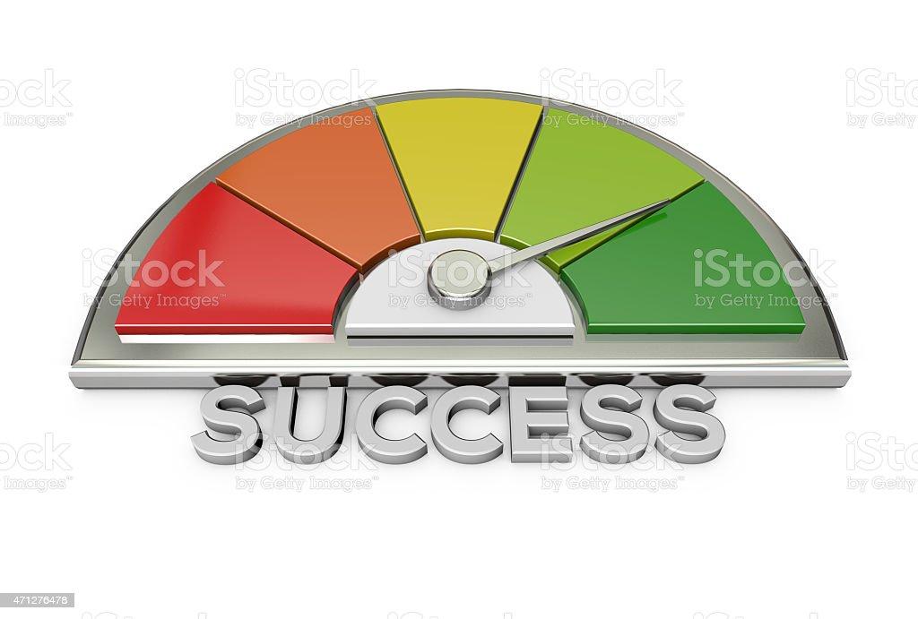 success chart stock photo