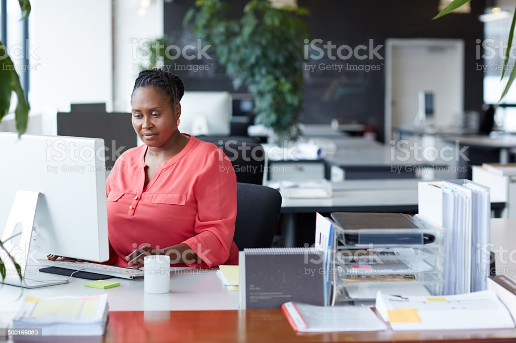 Success comes to those who work for it stock photo