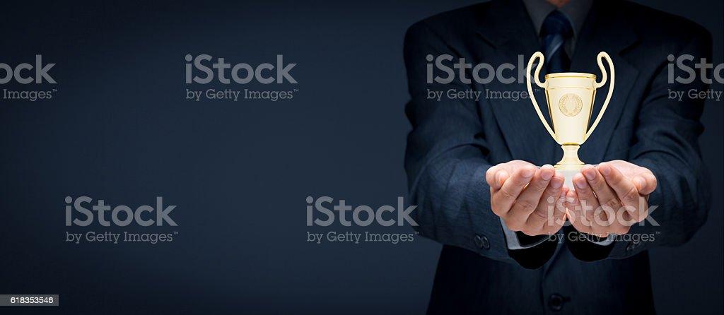 Success concept stock photo