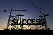 Success construction site