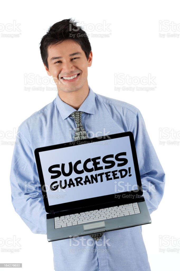 Success Guaranteed! royalty-free stock photo