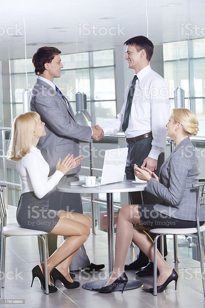 Success in business royalty-free stock photo