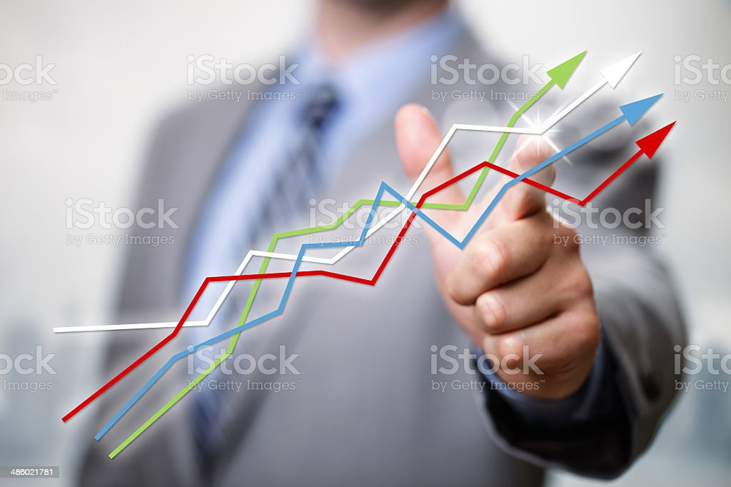 Success in business stock photo