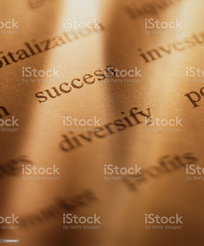 Success in Investing royalty-free stock photo