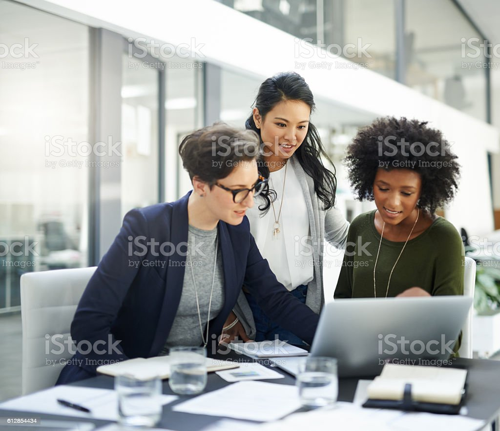 Success is a collaborative effort stock photo