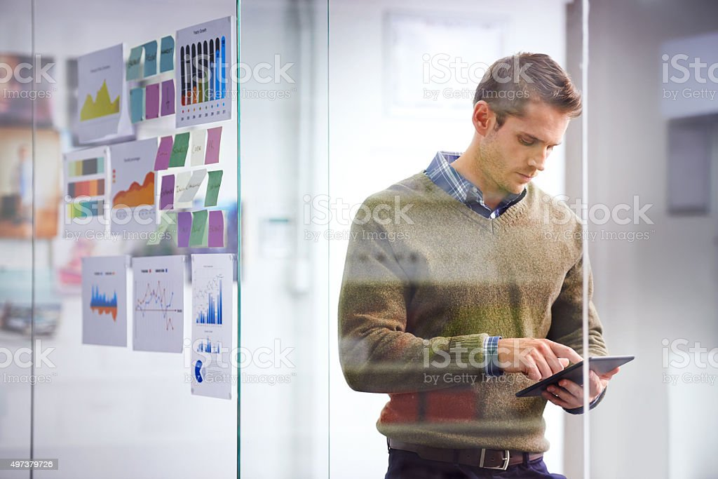 Success is all in the planning stock photo