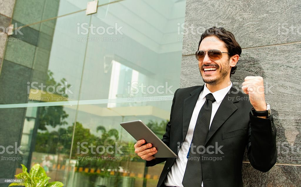 Success is an attitude stock photo