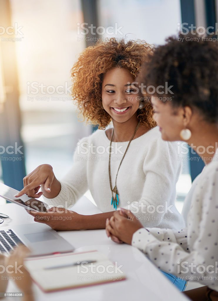 Success is better with two stock photo
