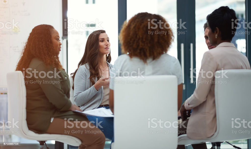 Success is going according to plan stock photo