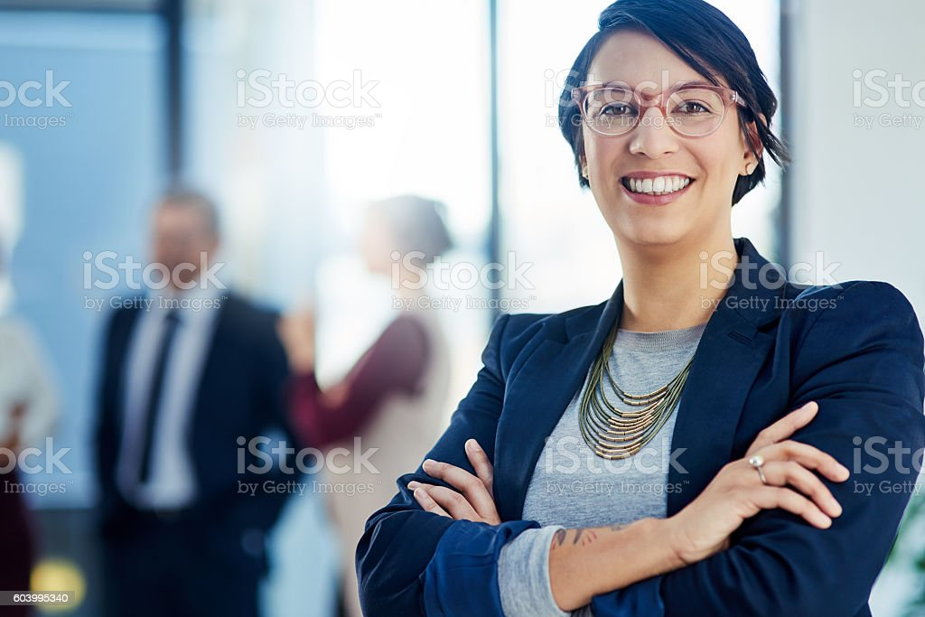 Success is second nature to me stock photo