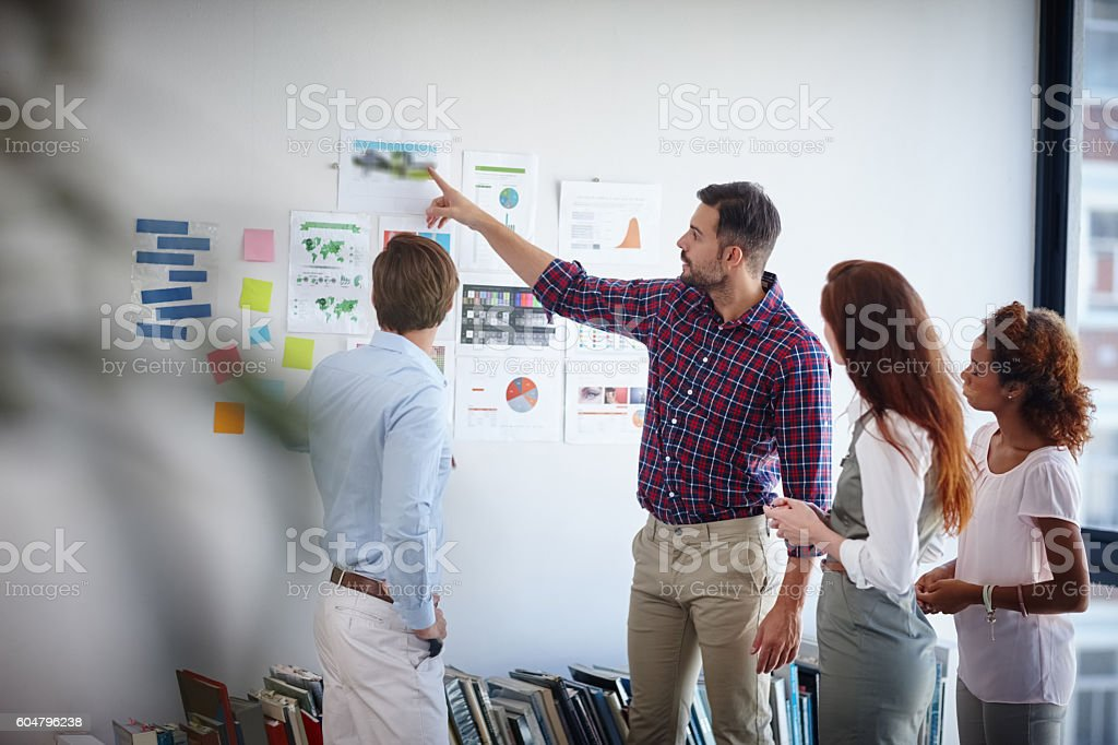 Success is their top priority stock photo