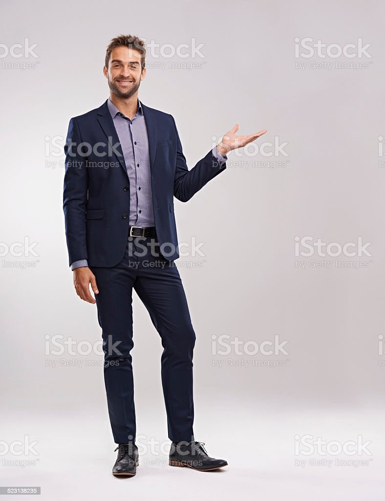 Success is yours for the taking stock photo