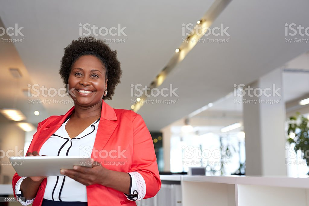 Success- it's a good feeling! stock photo