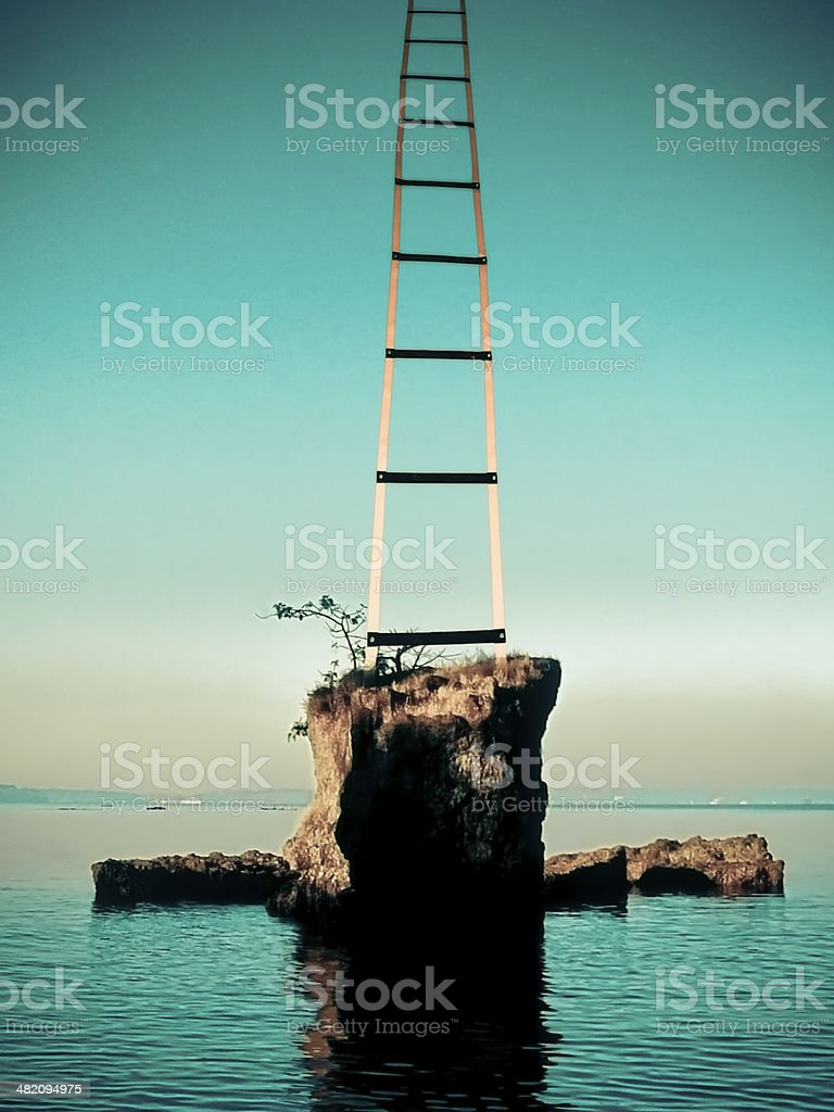 Success, Ladder, Concept royalty-free stock photo
