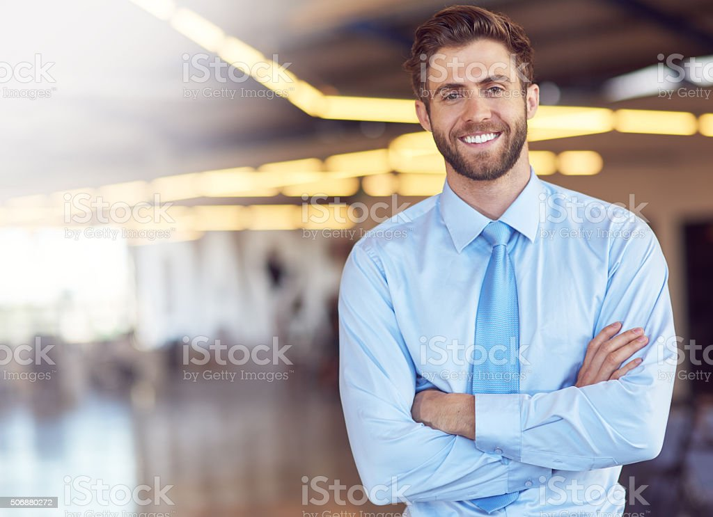 Success motivates me stock photo