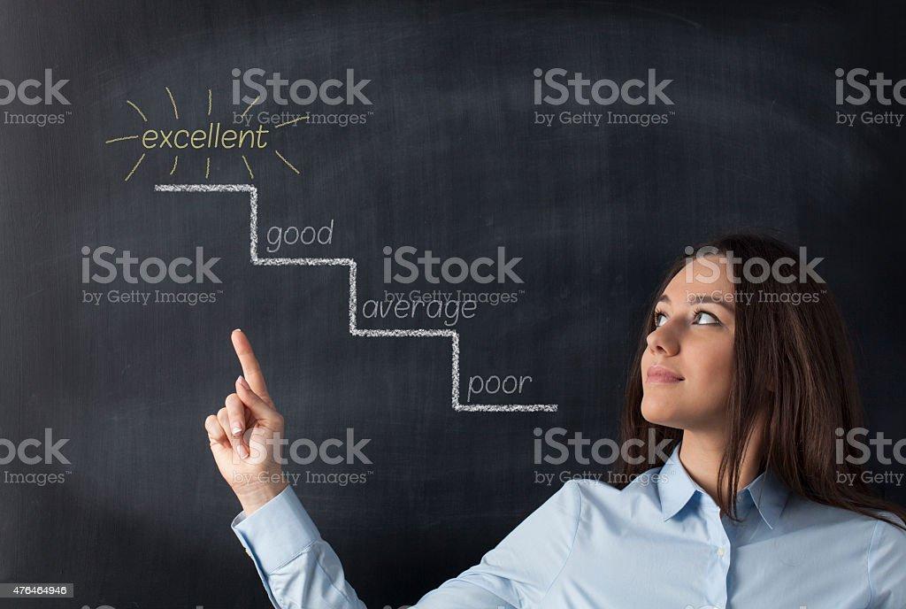 Success Path stock photo