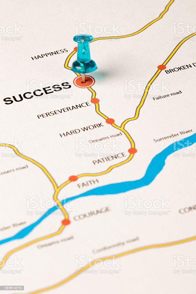 Success principles royalty-free stock photo