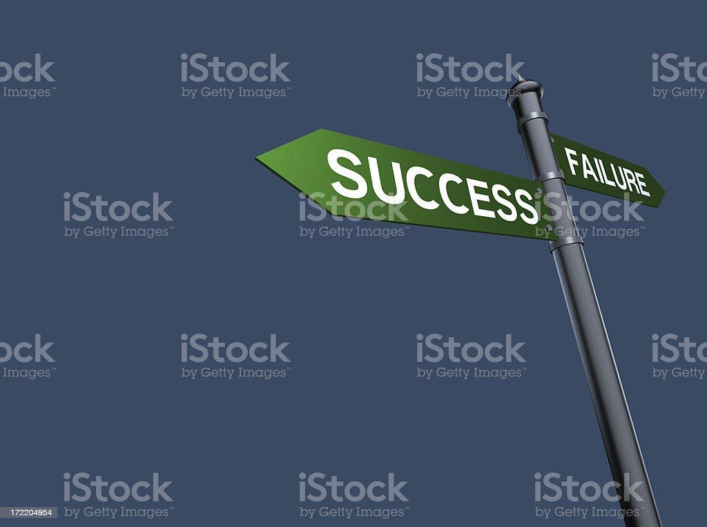 Success Sign(XXL) royalty-free stock photo