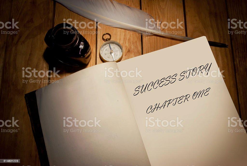 Success story stock photo