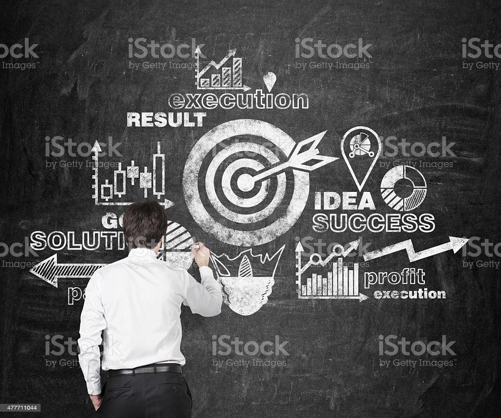 success strategy stock photo