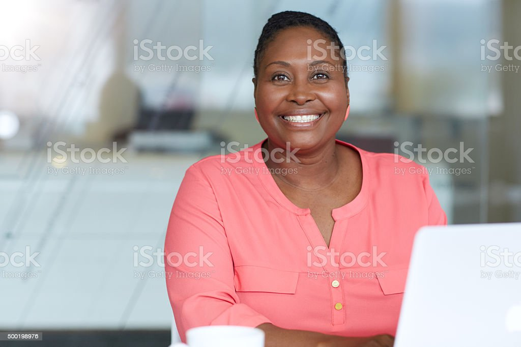 Success sure does feel good stock photo