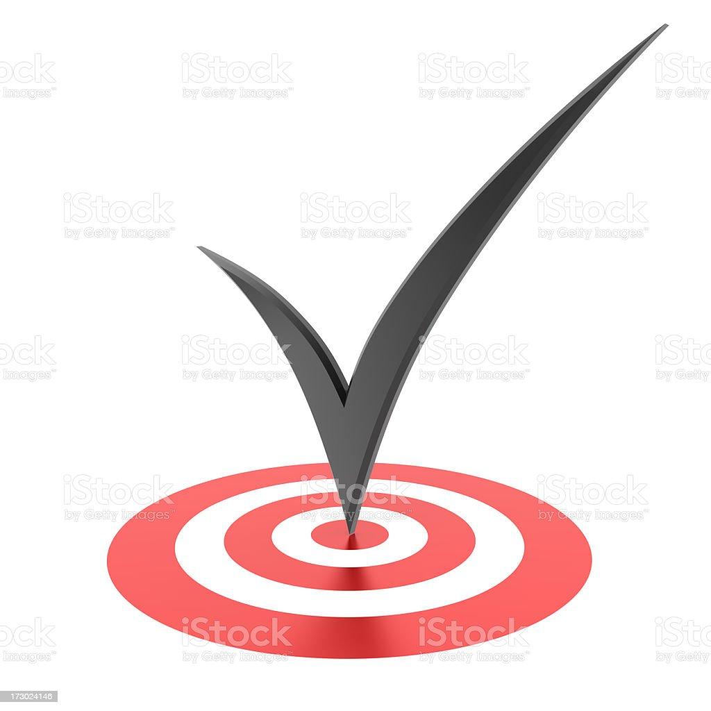 success symbol stock photo