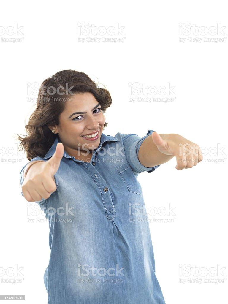 Success Teenage Girl stock photo