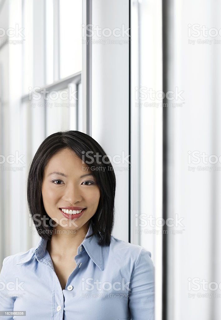 Successful Asian Business Woman royalty-free stock photo