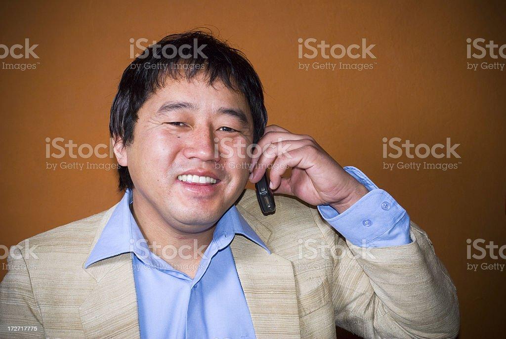 Successful Asian Businessman stock photo
