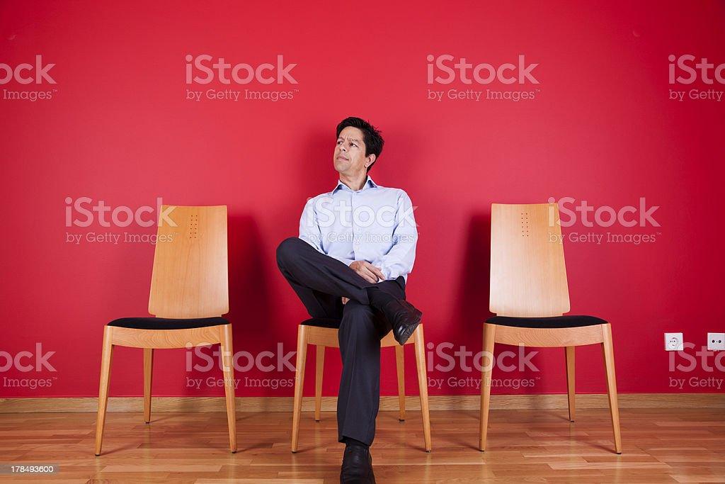 Successful atitude stock photo
