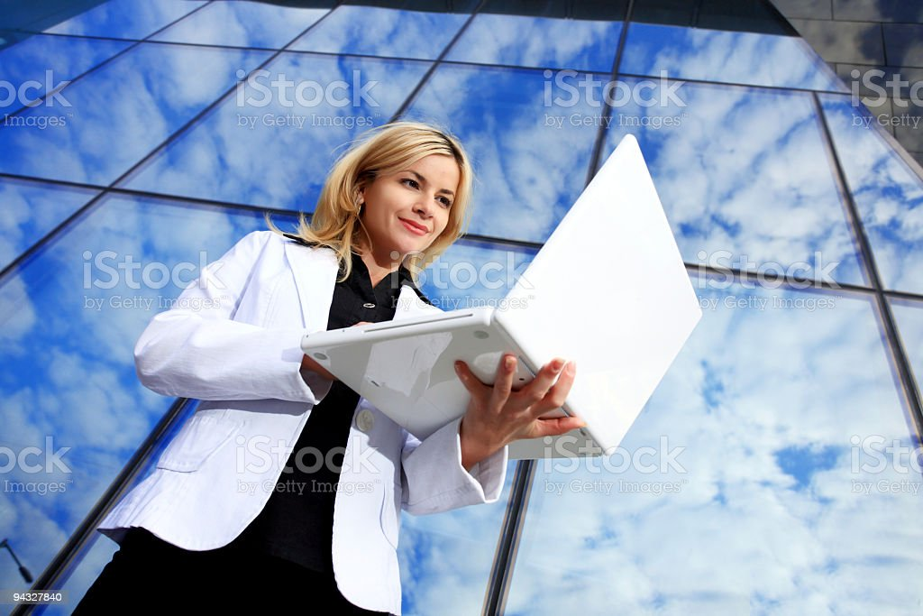 Successful business lady. royalty-free stock photo