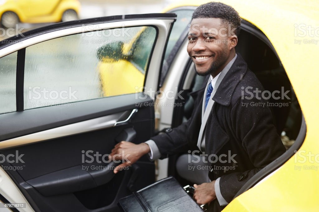 Successful business leader stock photo