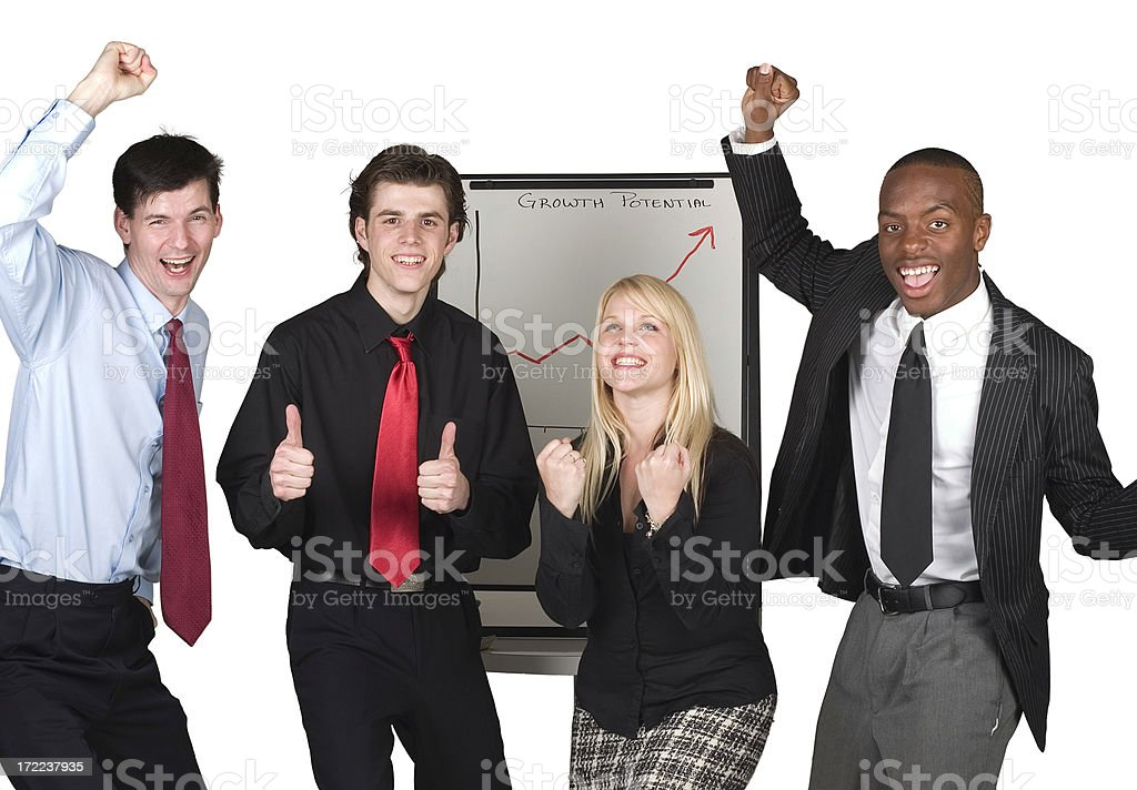 Successful Business People royalty-free stock photo