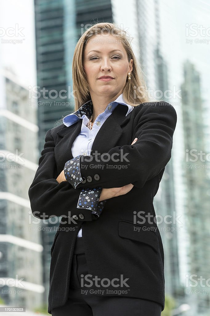 Successful business woman at her forties. royalty-free stock photo