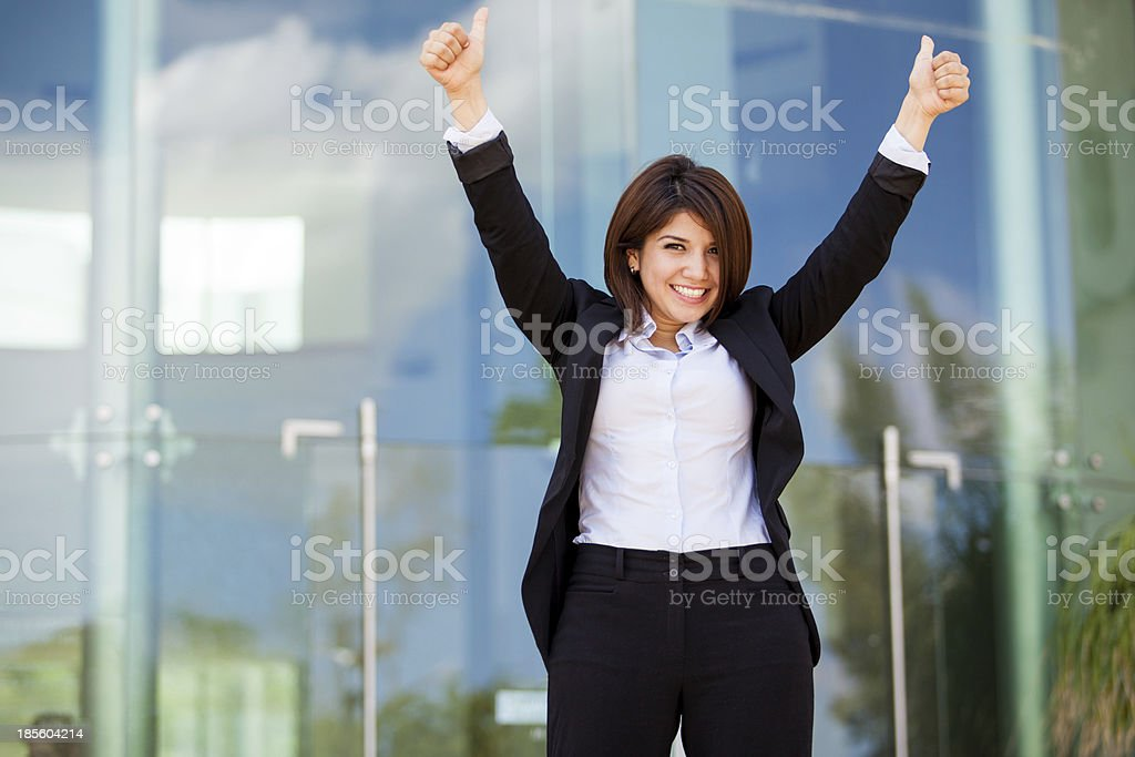 Successful business woman royalty-free stock photo
