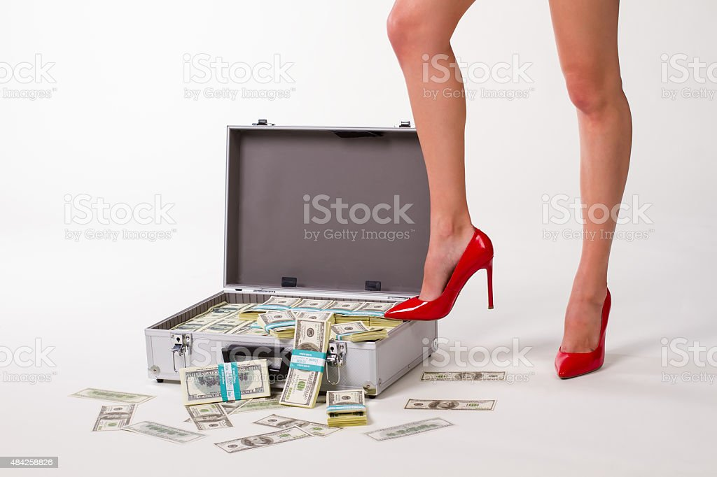 Successful business woman. stock photo