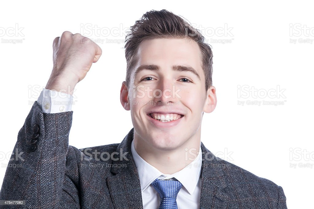 Successful Businessman stock photo