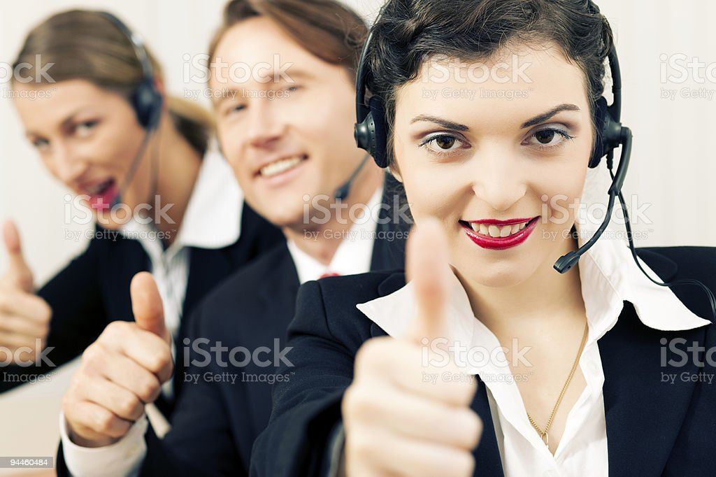 Successful businesspeople stock photo