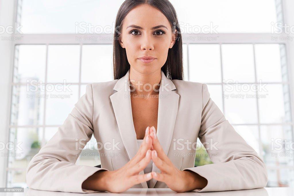 Successful businesswoman. stock photo