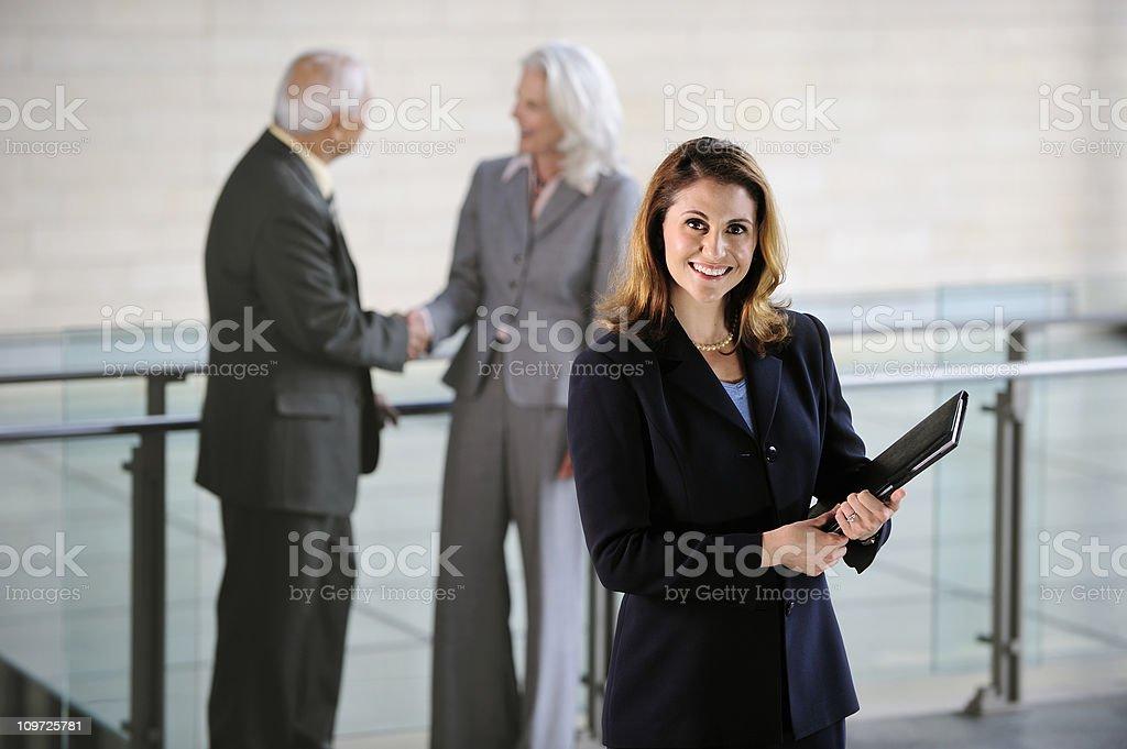 Successful Bussinesswoman stock photo