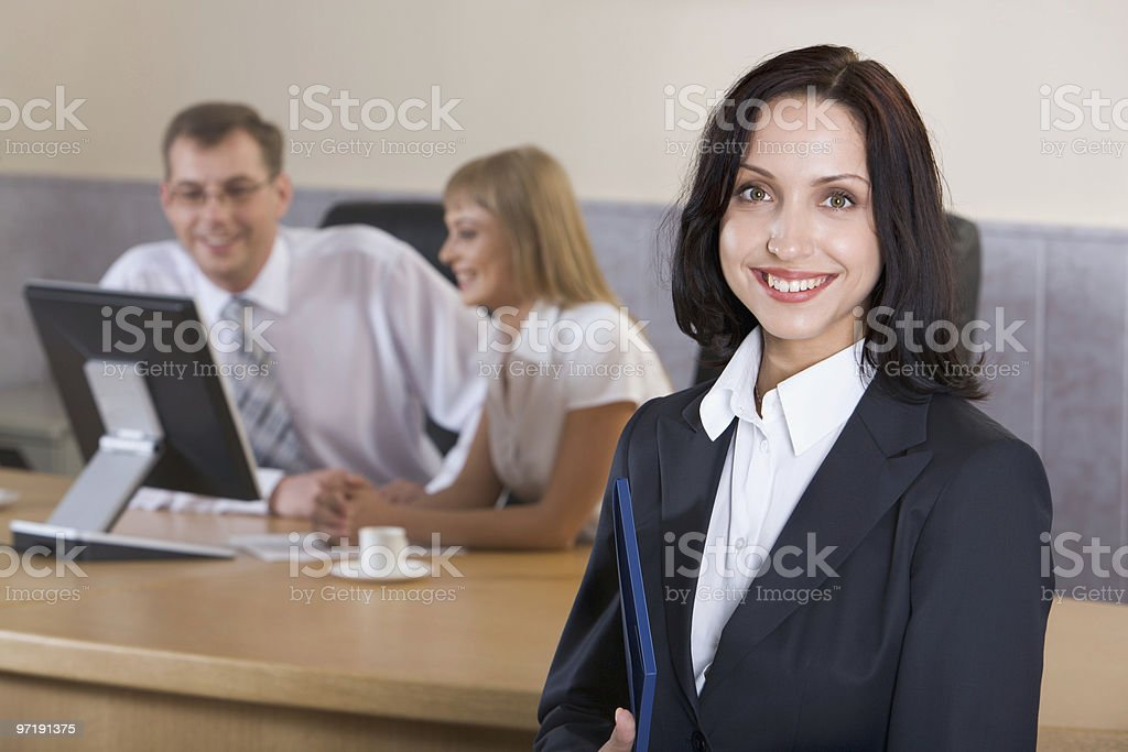 Successful career royalty-free stock photo