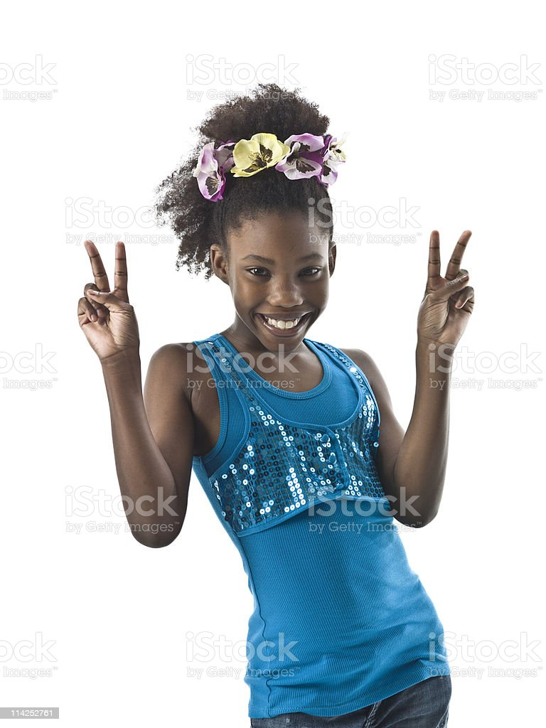 Successful child royalty-free stock photo